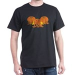 Halloween Pumpkin Don Dark T-Shirt