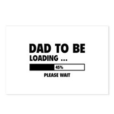 Dad To Be Loading Postcards (Package of 8)