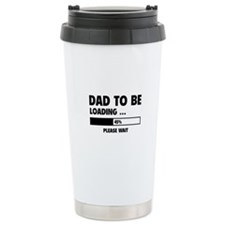 Dad To Be Loading Travel Mug
