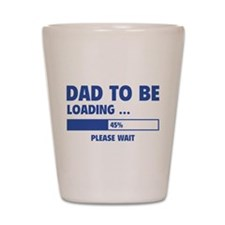 Dad To Be Loading Shot Glass