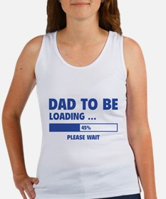 Dad To Be Loading Women's Tank Top