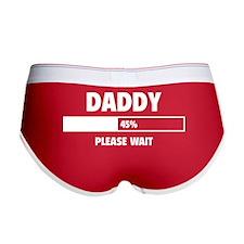 Daddy Loading Women's Boy Brief