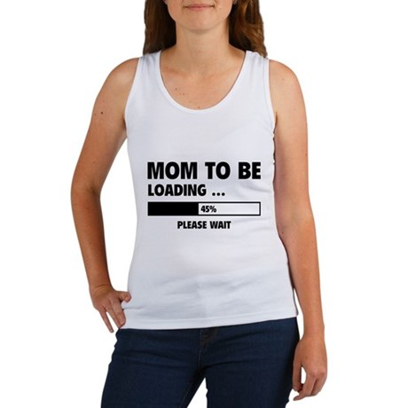 Mom To Be Loading Women's Tank Top
