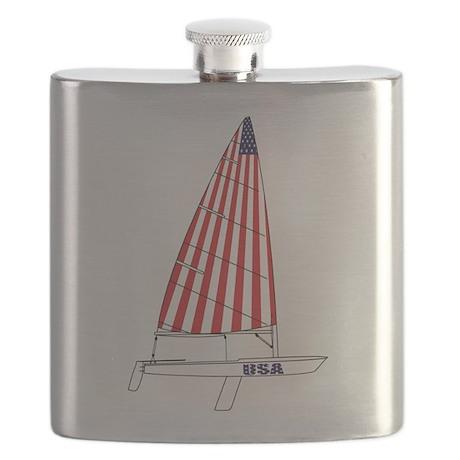 USA Dinghy Sailing Flask