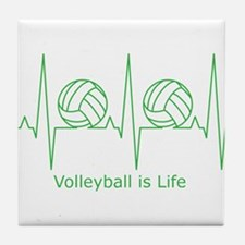 Volleyball is Life Tile Coaster