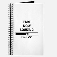 Fart Now Loading Journal