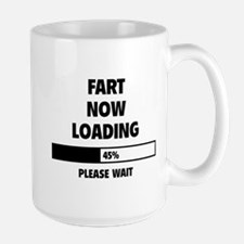 Fart Now Loading Mug