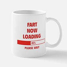 Fart Now Loading Small Small Mug