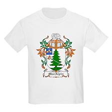 MacAlpin Coat of Arms Kids T-Shirt