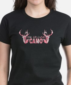 REAL GIRLS WEAR CAMO Tee