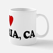 I Love CAMBRIA Small Small Mug