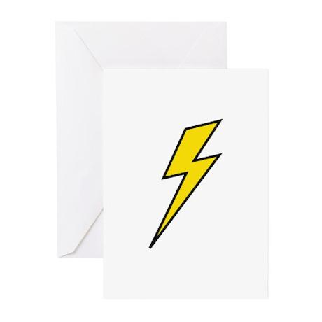 Lightning Greeting Cards (Pk of 20)