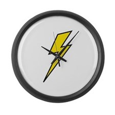 Lightning Large Wall Clock