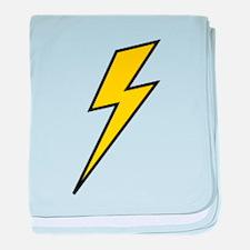 Lightning baby blanket