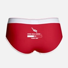 Diving Skills Loading Women's Boy Brief