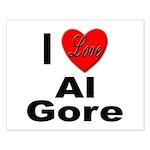 I Love Al Gore Small Poster