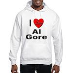 I Love Al Gore (Front) Hooded Sweatshirt