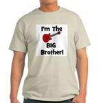 I'm the Big Brother (guitar) Ash Grey T-Shirt