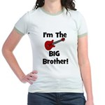 I'm the Big Brother (guitar) Jr. Ringer T-Shirt