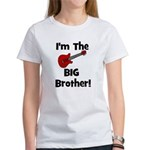 I'm the Big Brother (guitar) Women's T-Shirt
