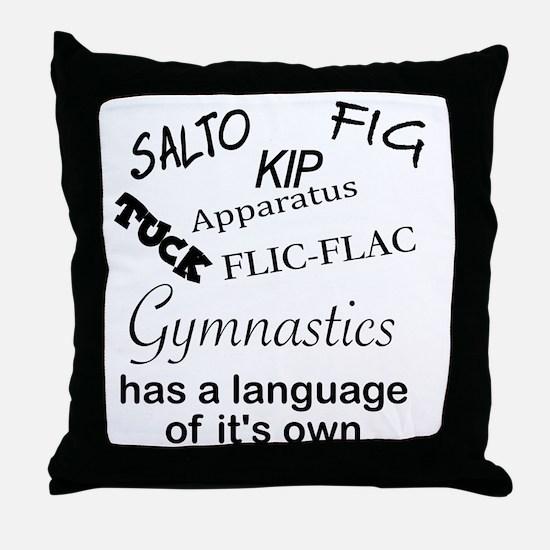Unique Apparatus Throw Pillow
