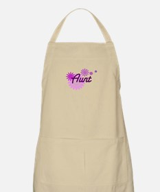 Aunt with Flowers Apron