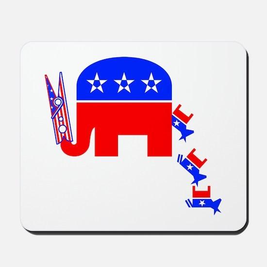 Political Cartoon; Democrats Stink -  Mousepad