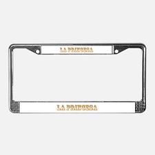 La Princesa License Plate Frame