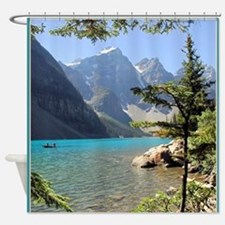 Moraine Lake Shower Curtain