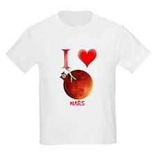 I Love Mars T-Shirt