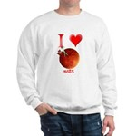 I Love Mars Sweatshirt