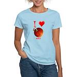 I Love Mars Women's Light T-Shirt