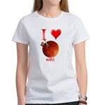 I Love Mars Women's T-Shirt