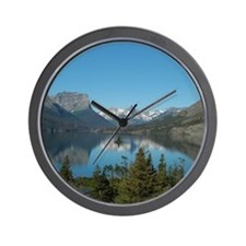 St. Mary Lake Wall Clock