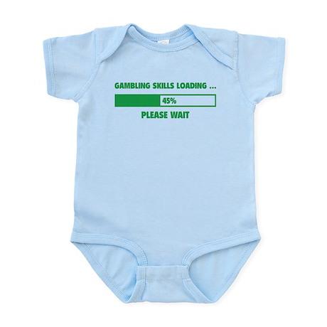 Gambling Skills Loading Infant Bodysuit