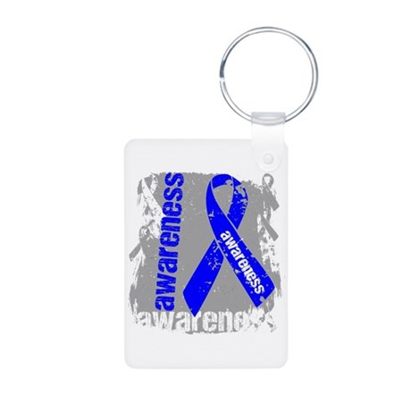 Dysautonomia Awareness Aluminum Photo Keychain