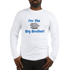I'm The Big Brother (elephant Long Sleeve T-Shirt