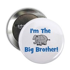 I'm The Big Brother (elephant Button