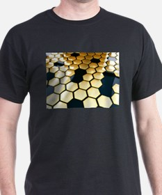 Golden Hexagons T-Shirt