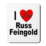 I Love Russ Feingold Mousepad