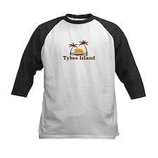 Tybee Island GA - Palm Trees Design. Tee
