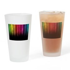 Colored Bars Drinking Glass