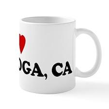 I Love CALISTOGA Mug