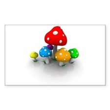 Mushrooms Decal