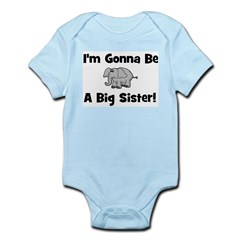 Gonna Be Big Sister (elephant Infant Creeper