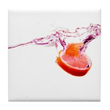 Citrus Splash Tile Coaster