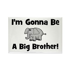 Gonna Be Big Brother (elephan Rectangle Magnet