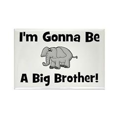 Gonna Be Big Brother (elephan Rectangle Magnet