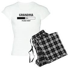 Grandma Loading Pajamas