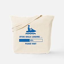Jetski Skills Loading Tote Bag